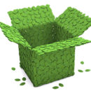 """Eco-friendly packaging – """"green"""" is in vogue."""
