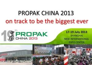 MBF&PE @ Propak China 2013