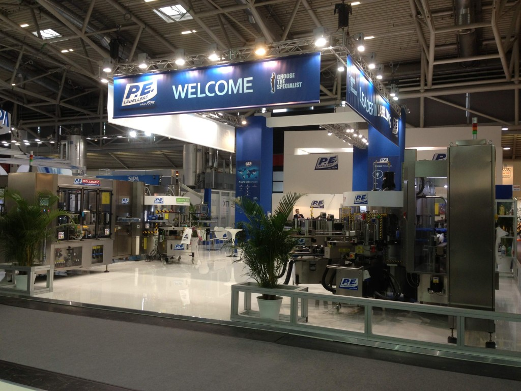 Stand P.E. Labellers Drinktec2013-2